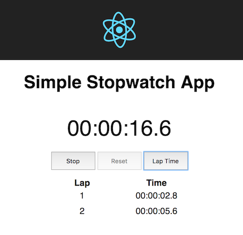 How to create a simple React Stopwatch app | Predjo Blog
