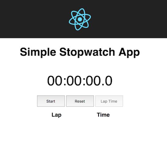 How to create a simple React Stopwatch app | Predjo Blog
